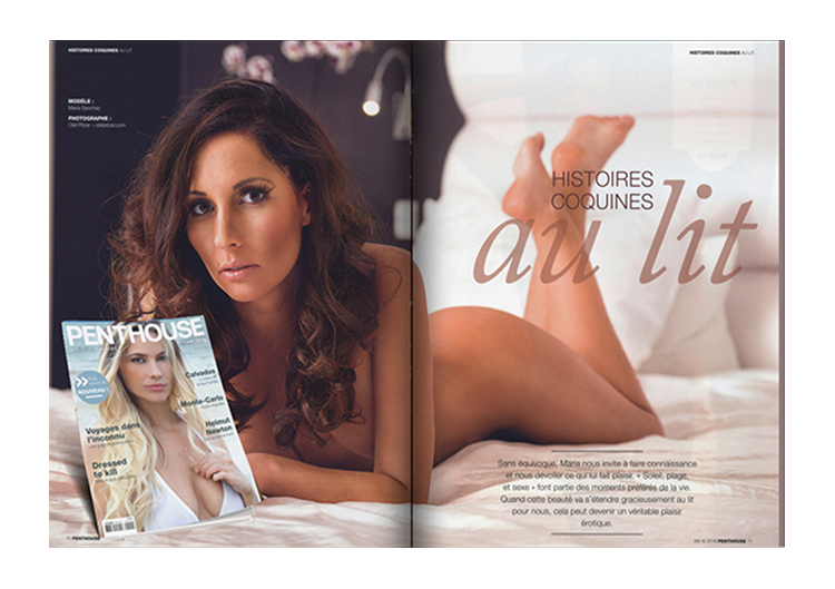 Penthouse Magazin Frankreich September Oktober 2019