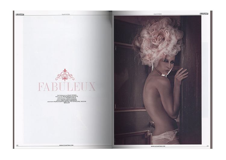 Magazin: Elegant Magazin (UK)